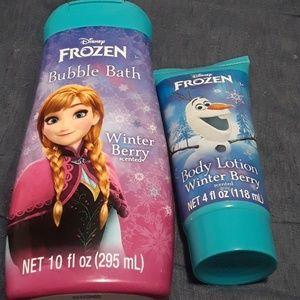 Frozen bath and beauty
